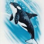 Orca (40 cm x 30 cm) for sale € 500