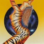 Tiger woman (sold)