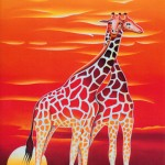 Giraffes (sold)