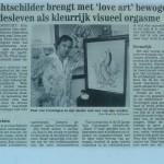 Nachtschilder brengt met 'love art' bewogen liefdesleven als kleurrijk visueel orgasme