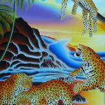 The leopard cannot change his spots (42 cm x 31 cm) FOR SALE € 600