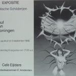 Expositie in café Eijlders, Amsterdam (1988)