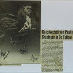 Kunstwereld van Paul van Groningen in De Telloor