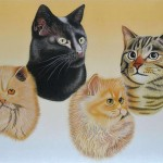 Four cats (sold)