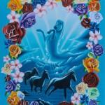 Wild horses (sold)