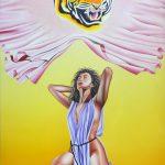 Tiger cat (40 cm x 30 cm) for sale € 600